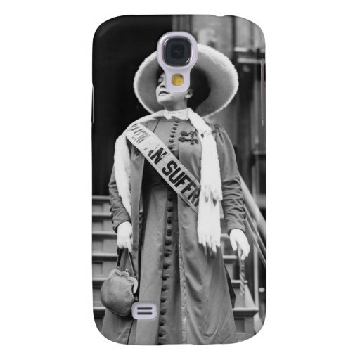 Stylin' Suffragette, 1908 Galaxy S4 Cover