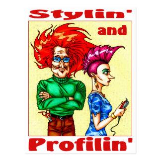 Stylin y Profilin Tarjetas Postales