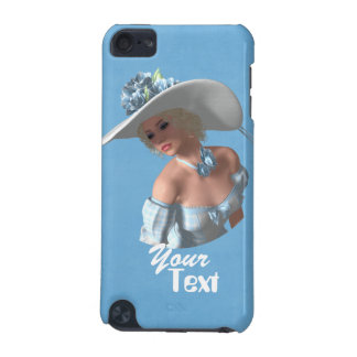 Styling Lady Blue Case iPod Touch (5th Generation) Case