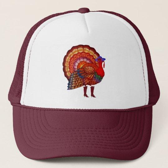 Styling Turkey Trucker Hat