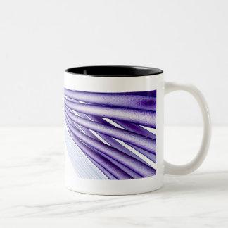 Stylised nerve fibers Two-Tone coffee mug