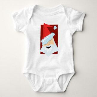 Stylised Santa Claus Baby Bodysuit