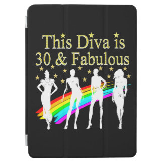 STYLISH 30 AND FABULOUS 30TH BIRTHDAY DESIGN iPad AIR COVER