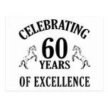 Stylish 60th Birthday Gift Ideas Post Cards
