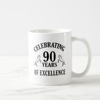 Stylish 90th Birthday Gift Ideas Coffee Mug