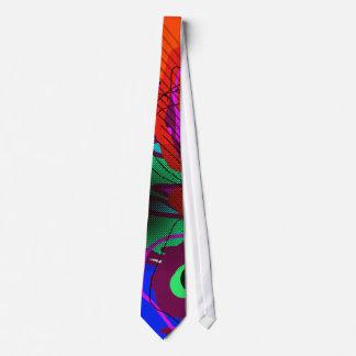 stylish abstraction art tie