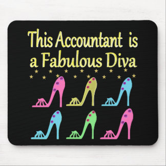 STYLISH ACCOUNTANT SHOE LOVER DESIGN MOUSE PAD