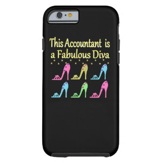STYLISH ACCOUNTANT SHOE LOVER DESIGN TOUGH iPhone 6 CASE
