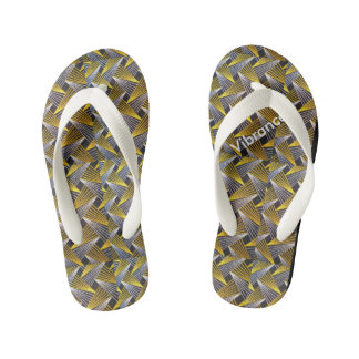 Stylish, African Inspired flip flops