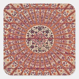 Stylish and Chic Morocco Patern Square Sticker