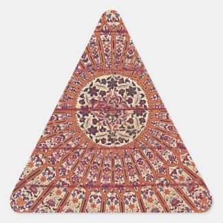 Stylish and Chic Morocco Patern Triangle Sticker