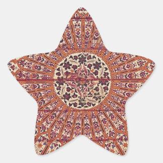 Stylish and Chic Morocco Patern Star Sticker