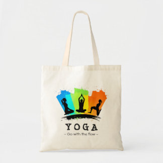 Stylish and Colorful Pilates YOGA Exercise Tote Bag