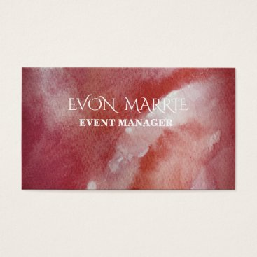 Professional Business Stylish and Original Event Manager  Busines Card