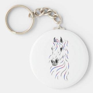 Stylish Arabian Horse Key Chain