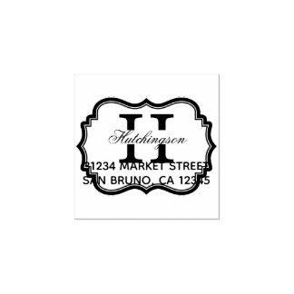 Stylish Art Deco Frame | Custom Return Address Rubber Stamp