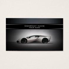 Stylish Automotive Business Card at Zazzle