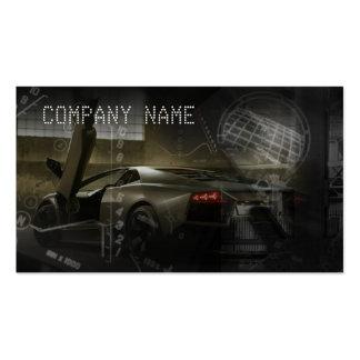 Stylish automotive business card