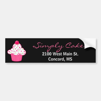 Stylish Bakery Bumper Sticker