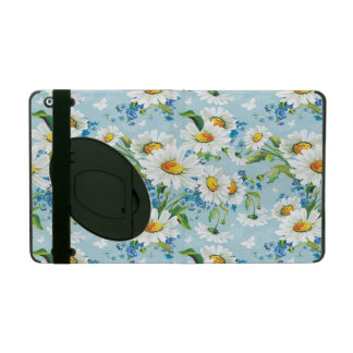 Stylish beautiful bright floral pattern 2 iPad cover