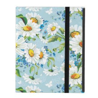 Stylish beautiful bright floral pattern 2 iPad folio case