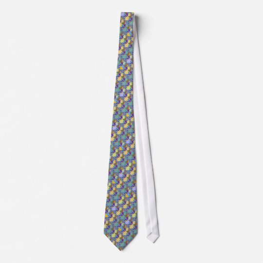 stylish biking pattern for suit tie