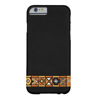 Stylish Black African art pattern iPhone 6 case