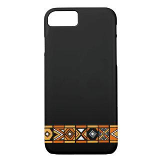 Stylish Black African art pattern iPhone 7 case