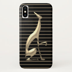 Case-Mate Barely There iPhone X Case with Greyhound Phone Cases design