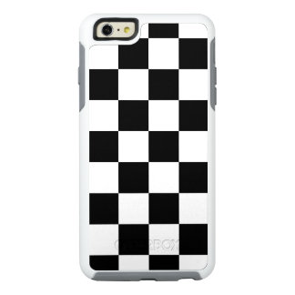 Stylish Black and White Checkered Pattern OtterBox iPhone 6/6s Plus Case