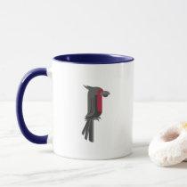 Stylish Black Palm Cockatoo Mug
