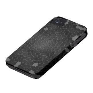 Stylish black snake skin iPhone case iPhone 4 Case-Mate Case