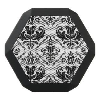 Stylish Black White Damask Decorate Pattern Black Boombot Rex Bluetooth Speaker