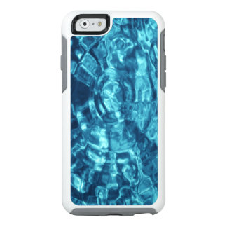 Stylish Blue Abstract Water Photo OtterBox iPhone 6/6s Case
