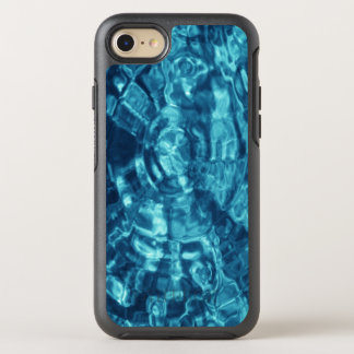 Stylish Blue Abstract Water Photo OtterBox Symmetry iPhone 8/7 Case