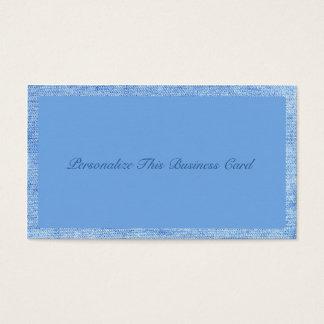 Stylish Blue Denim Business Card