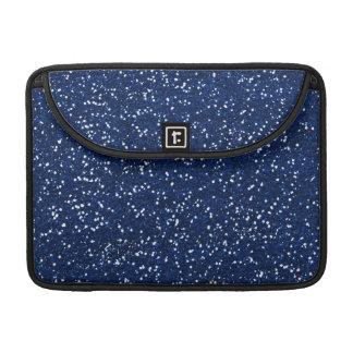 Stylish Blue Glitter MacBook Pro Sleeve