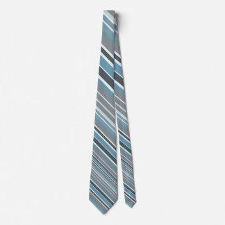 Stylish Blue Stripes Tie