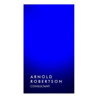 Stylish blue unique professional business card