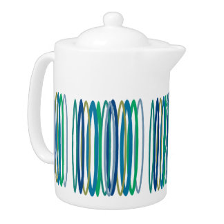Stylish Blues Teapot
