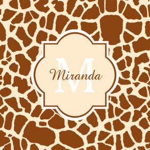 Giraffe Plates | Zazzle