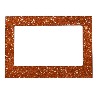 Stylish Brown Glitter Magnetic Picture Frame