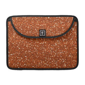 Stylish Brown Glitter Sleeve For MacBook Pro