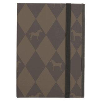Stylish Brown Harleqiun Horse Pattern iPad Air Cover