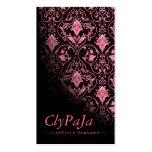 """Stylish Business Card - """"Roccoco"""" (blush rose)"""