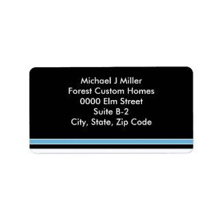 Stylish Business/Personal  Stripe Address Label