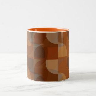 Stylish Cappucino Pattern Mug
