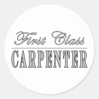 Stylish Carpenters : First Class Carpenter Sticker