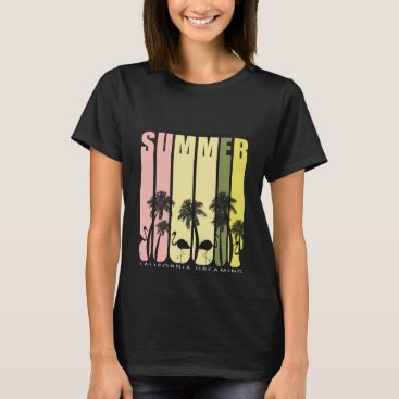 USA Themed Stylish casual T-shirt Summer typography.