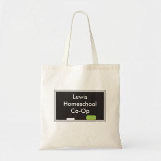Stylish Chalk board Homeschool Co Op Tote Bag